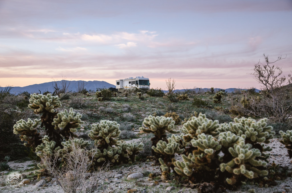 Boondocking Carrizo Badlands: Anza Borrego, CA