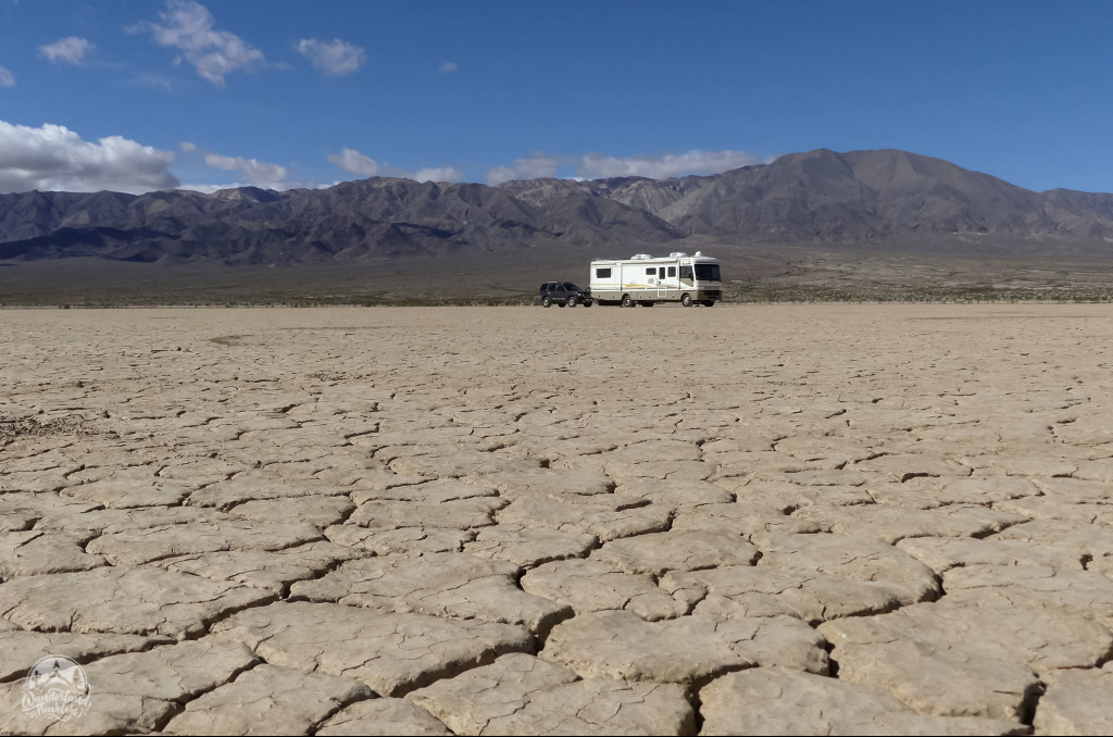 Boondocking a Dry Lake Bed: Southern CA