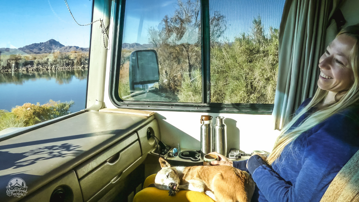 Boondocking at Hippie Hole: Cibola, AZ