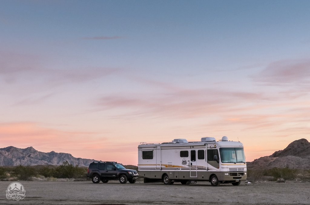 Boondocking at Heart of Mojave East: Needles, CA
